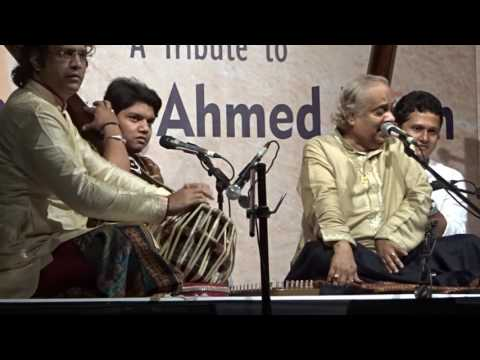 Pt. Ajay Pohankar, A tribute to Shafaat Ahmet Khan 2016, Mumbai, 1st piece