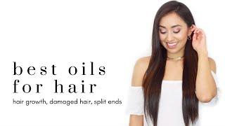 HOW TO GROW HAIR | BEST OILS FOR HEALTHY HAIR