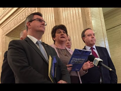 Foster: DUP will block any Brexit deal that separates Northern Ireland from UK