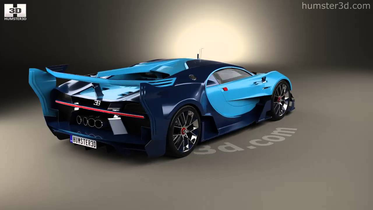 Bugatti Vision Gran Turismo 2015 3D model by Humster3D com