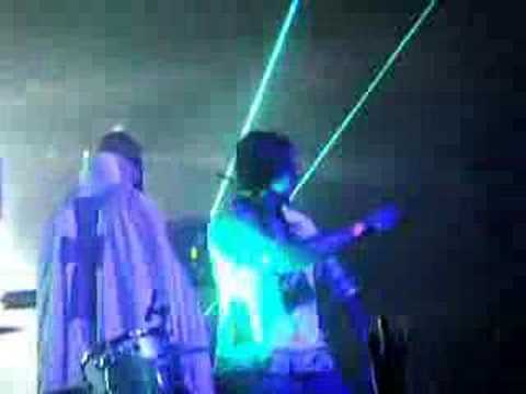 "GHOSTLAND OBSERVATORY ""Silver City"" encore live in LA"