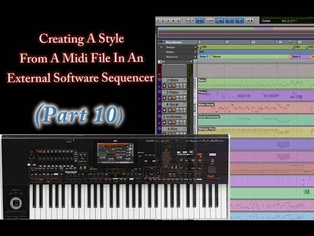 Part 10-Creating Style From Midi In An External Sequencer