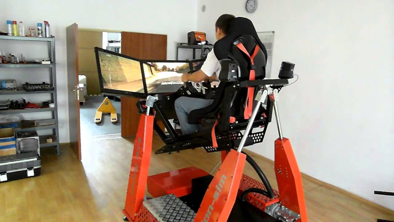 Hydraulic Racing Simulator Chair Best Floor Www Motion Sim Cz 4x4 Is Released For Sale Youtube
