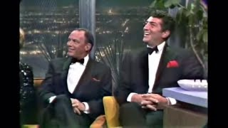 Dean Martin, Frank Sinatra, Joey Bishop Tonight Show 4/10-1965