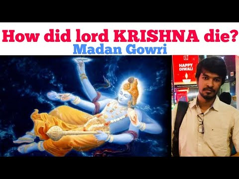 How did lord Krishna die? | Tamil | Madan Gowri | MG