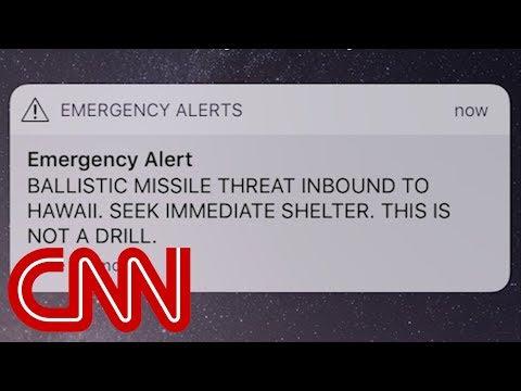 Hawaii gets false missile strike alert