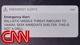 Hawaii gets false missile strike alert