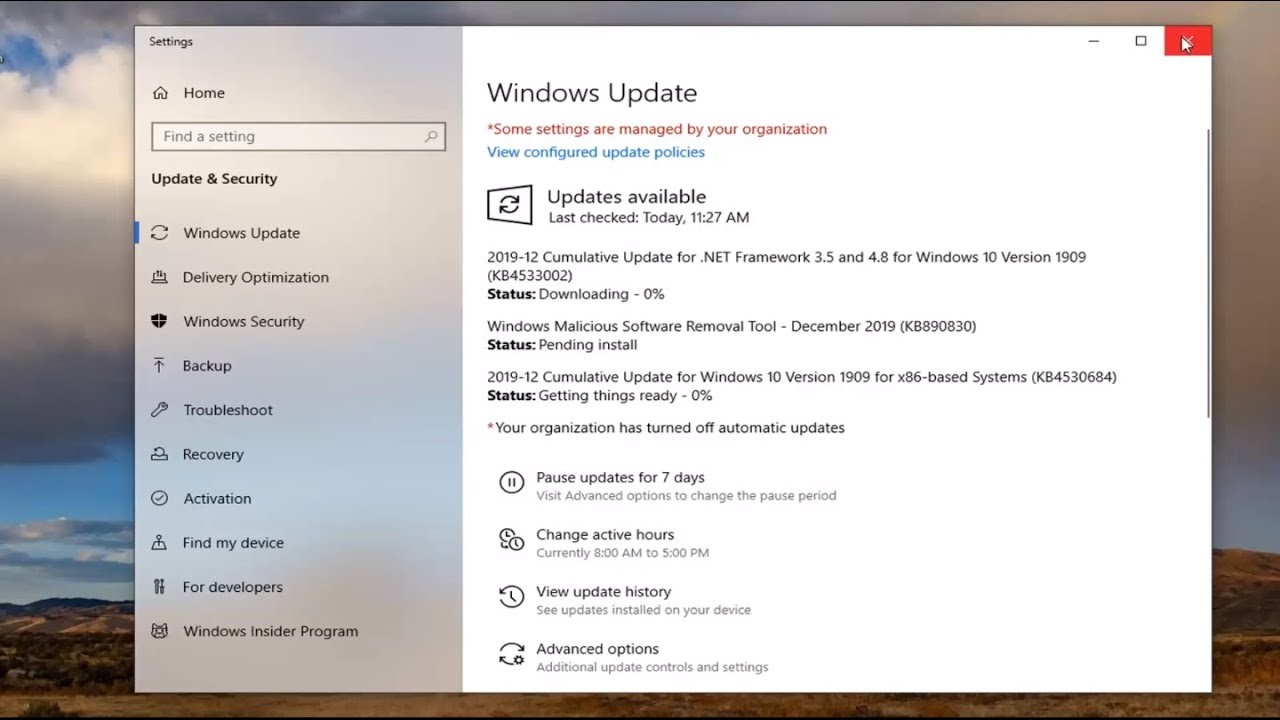 FIX: Windows 10 Update Service is Missing (Solved)