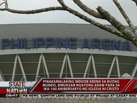 SONA: Pinakamalaking indoor arena sa buong mundo, binuksan ngayong araw