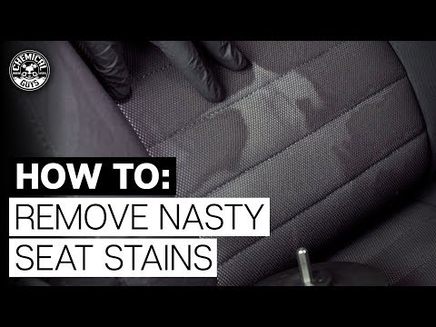 How To Remove Stubborn, Nasty  Stains from Fabric!  - Chemical Guys