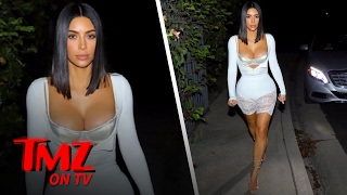 Kim Kardashian: Where Is She Going In That Outfit?! | TMZ TV