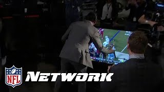 David Carr Gets HYPED During Derek Carr's Game-Winning Play! | NFL Network