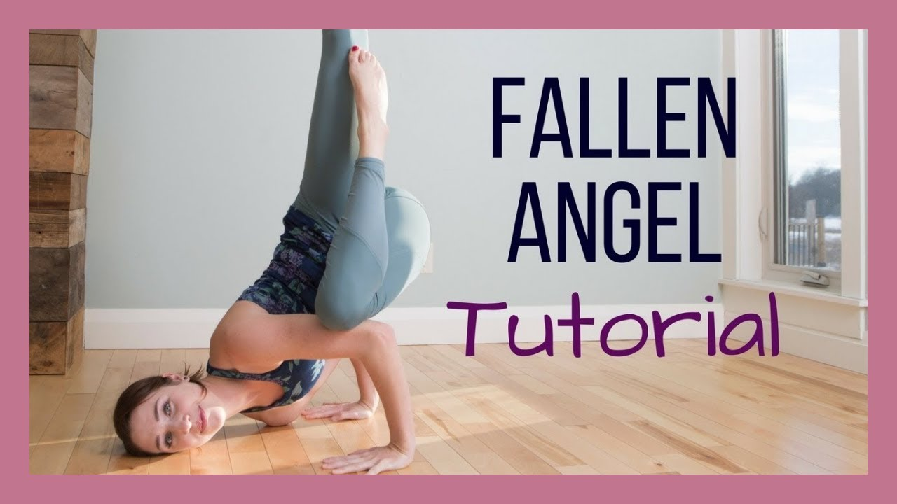 Fallen Angel Pose Tutorial   Step by Step Arm Balance Demonstration