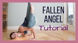 Fallen Angel Pose Tutorial - Step by Step Arm Balance Demonstration