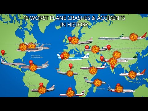 10 Worst Plane Crashes And Accidents In History
