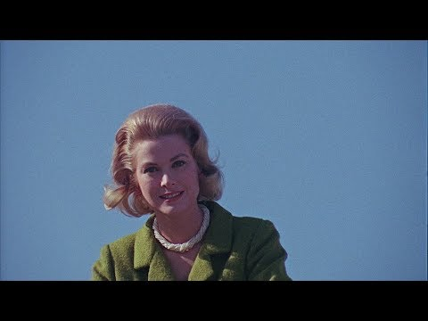 Grace Kelly - Behind the scenes recording a programme about Monaco