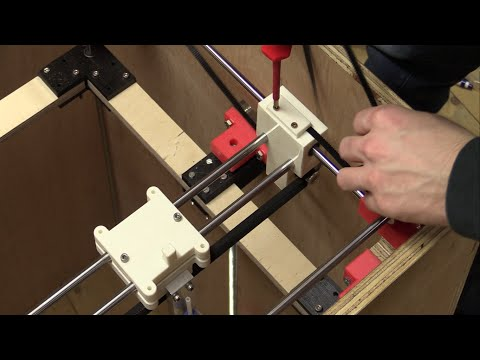 DIY 3D-Printer Build (From Scratch) - Part 6b: Installing Belts, Testing Electronics - Ec-Projects