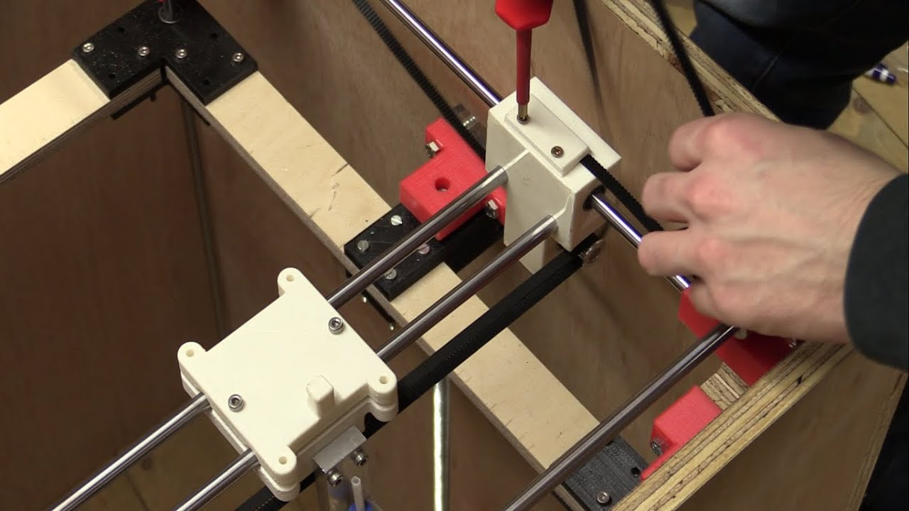 how to make a 3d printer from scratch