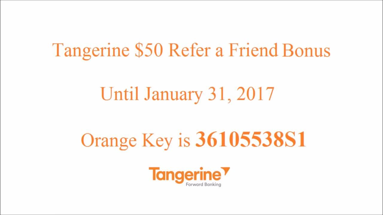 Tangerine Referral