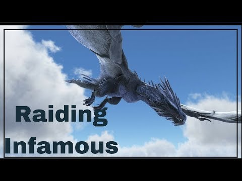 Ark official PvP | vVv | Raiding Infamous