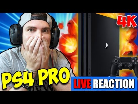 OMG! PS4 PRO 4K!! (Nuova PS4 più Potente) LIVE REACTIONS -  Mass Effect Andromeda GAMEPLAY