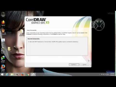 corel draw x5 installation guide