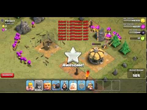 Clash Of Clans Glitch| Deploy 50 Troops in 0.6 Seconds!!