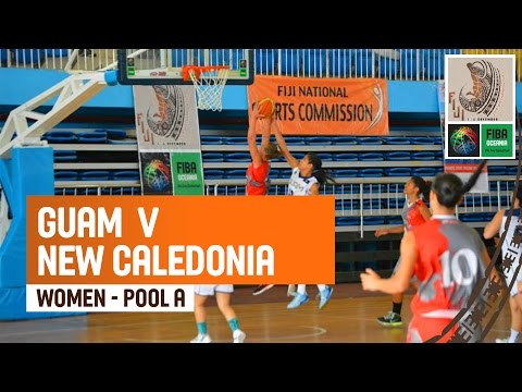 Guam v New Caledonia (Women) - Full Game - 2014 FIBA Oceania