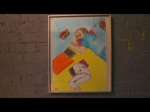 Video: Ex-convict paints life in Egypt's jails