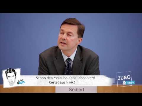 """Regierungssprecher Steffen Seibert über das """"Scoring Girls Projekt"""" von Tugba Tekkal."""