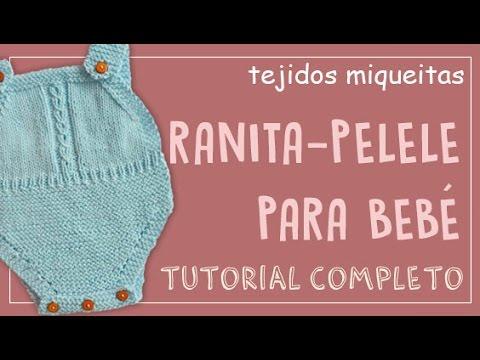 a2a82f521 Cómo hacer una ranita-pelele para bebé (o pantalón corto) (Subtitles) -  YouTube