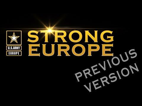 U.S. Army Europe Command Video