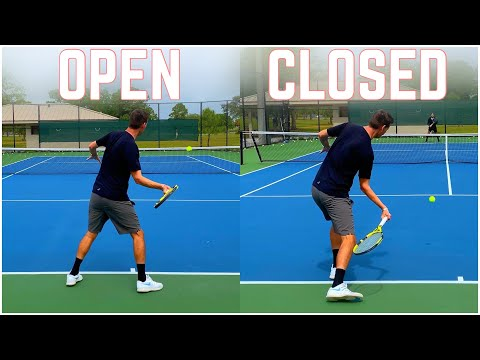 Open Stance vs Closed Stance | How Positioning Works on the Forehand