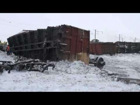 Подробности схода вагонов с рельс в Карагандинской области