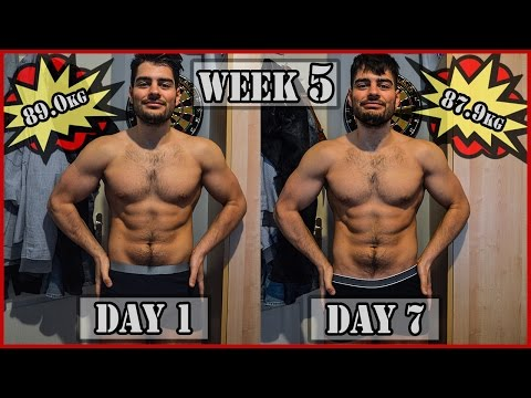 WEEK 5/12 TRANSFORMATION | Dropping Weight Like it is NOTHING | Summer Shredding 2017