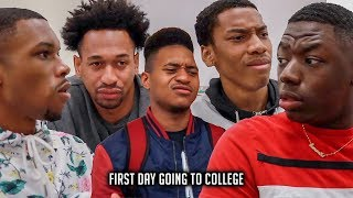 First Day Going to College (feat. Tpindell & Y'allBoysENT) - @AyeTeeYNFR