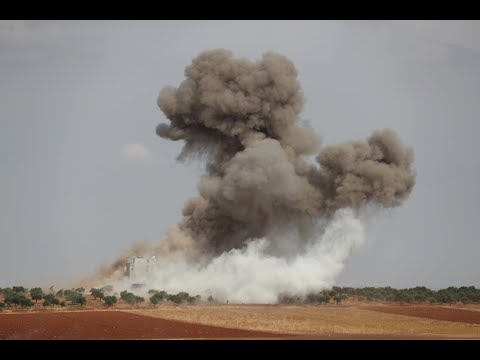 قصف روسي يستهدف مقراً لهيئة تحرير الشام  - نشر قبل 8 ساعة