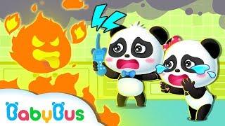 El Monstruo Aterrador de Fuego | Canciones Infantiles | BabyBus Español