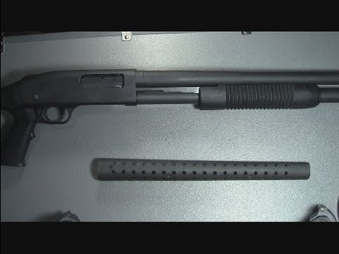How to install the Mossberg 590 heat shield