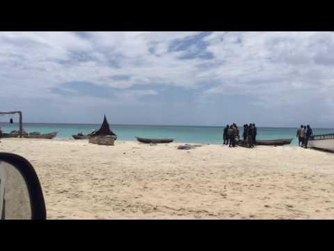 Visit of Gelée Beach au Cayes  HAITI 2016