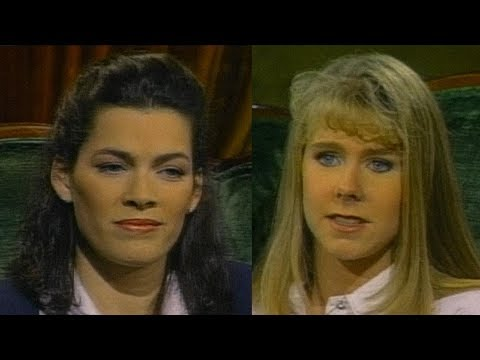 Tonya Harding and Nancy Kerrigan interview  - 1998 - Sound Enhanced -