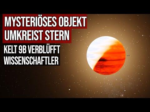 Mysteriöses Objekt umkreist Stern - KELT 9b verblüfft Wissenschaftler