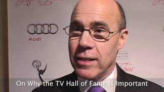Barry Livingston on the red carpet at the 2012 Television Hall of Fame Ceremony