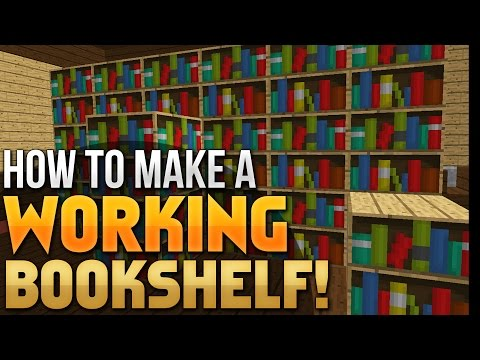 minecraft-tutorial-|-how-to-make-a-working-bookcase-(vanilla-minecraft-1.8)