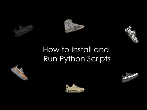 How to Install and Run Python Scripts