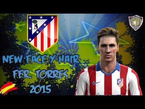 NEW FACE & HAIR FERNANDO TORRES 2015 [PES 2013 ] [DOWNLOAD]
