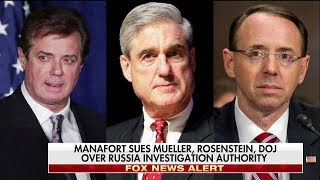 Turley: Manafort's Lawsuit Against Robert Mueller 'Will Fail Fairly Quickly'