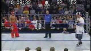 John Cena VS Rey Mysterio(Rap Battle)