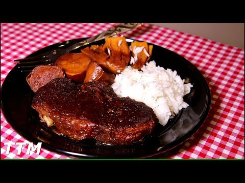 Teriyaki Pork Chops And Sweet Potatoes Instant Pot Recipe