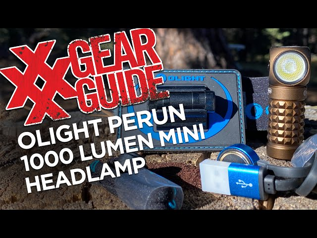 OLIGHT Perun Mini 1000 Lumen Headlamp Limited Edition Review